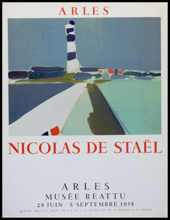 Lithograph De Stael - ARLES MUSEE REATTU
