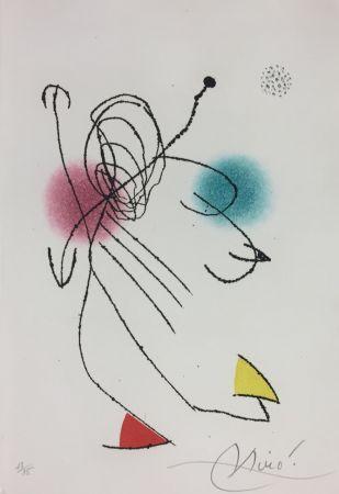 Etching And Aquatint Miró - Armario