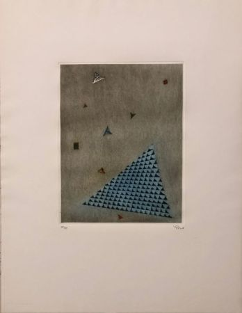 Etching Piza - Arrangement des triangles