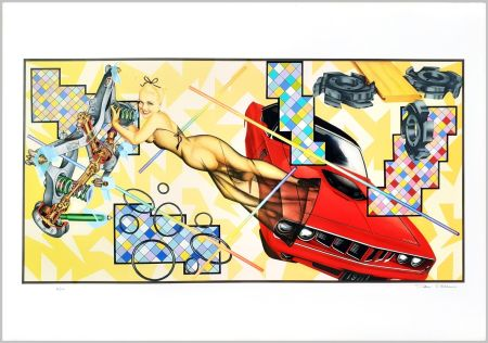 Screenprint Phillips - Art-O-Matic Cudacutie