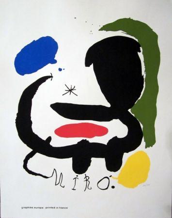 Screenprint Miró - Art and Graphics