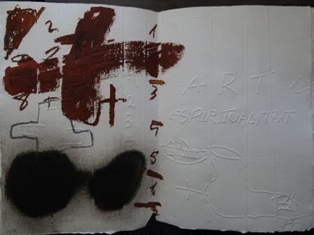 Illustrated Book Tàpies - Art i espiritualitat