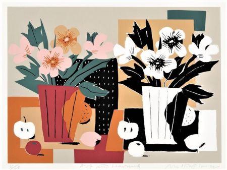 Screenprint Glaser - Art & Learning (for the Guggenheim Museum)