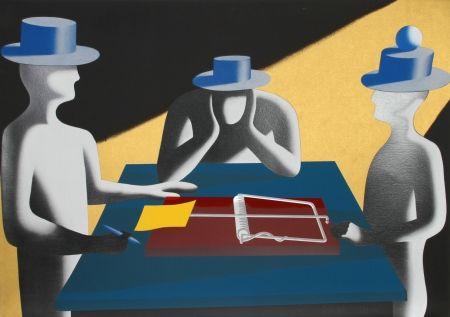 Screenprint Kostabi - Art of the Deal