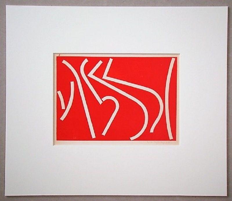 Screenprint Colla - Arte non-figurativa 1953