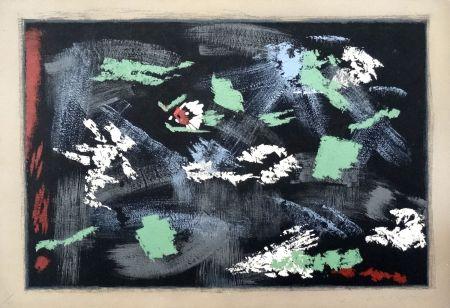 Lithograph Masson - Arthur Rimbaud : Une saison en Enfer