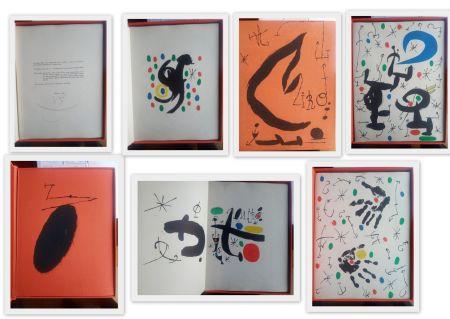 Illustrated Book Miró - Artist Book  Les essencies de a terra