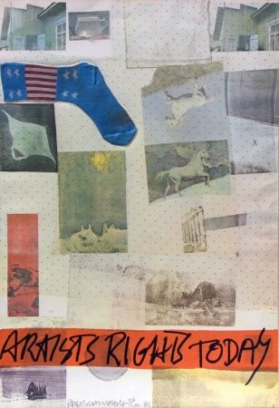 Lithograph Rauschenberg - Artist's Rights Today