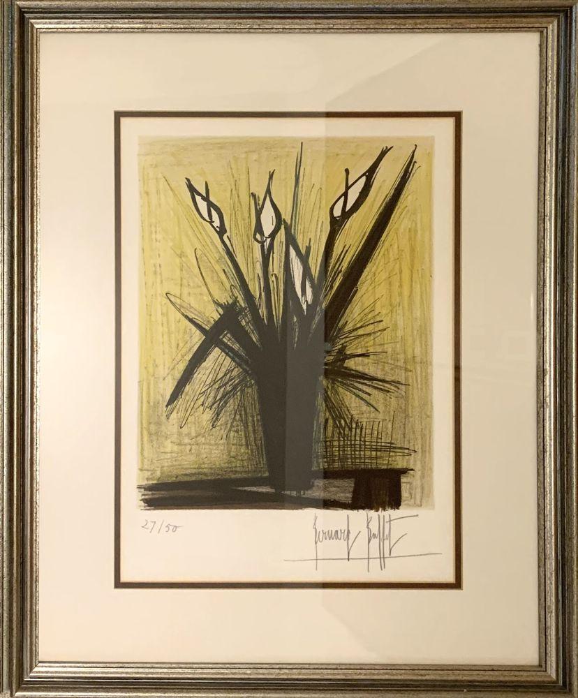 Lithograph Buffet - Arums