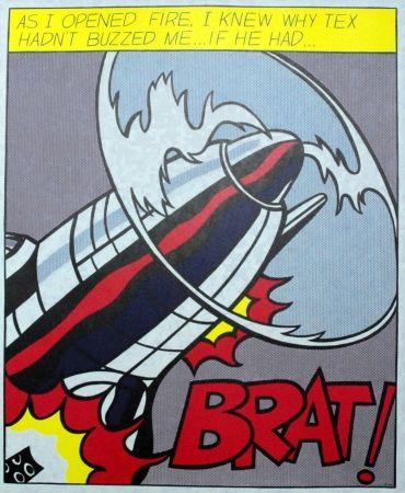 Poster Lichtenstein - As I opened fire