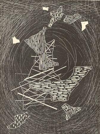 Woodcut Veronesi - Aspettando il gran vento I