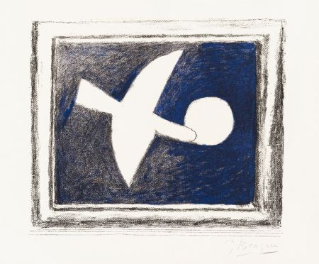 Lithograph Braque - Astre Et Oiseau (Star And Bird) I, 1958-59