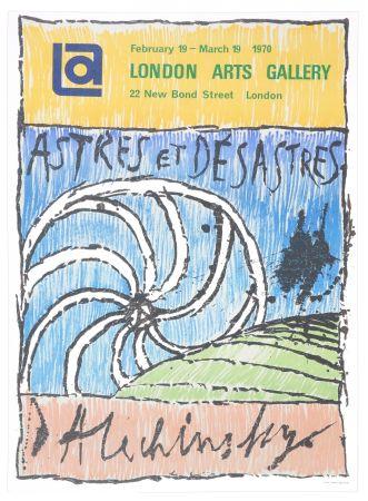 Poster Alechinsky - Astres et Désastres, 1970