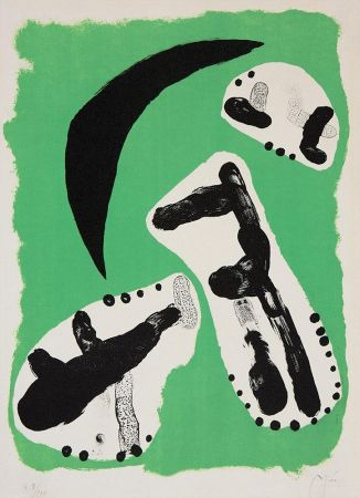Lithograph Miró - Astrologie II