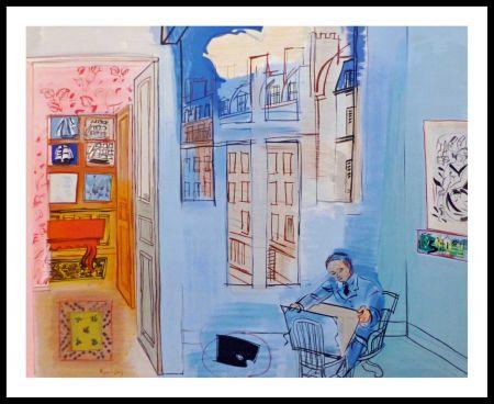 Lithograph Dufy - ATELIER DE L'IMPASSE