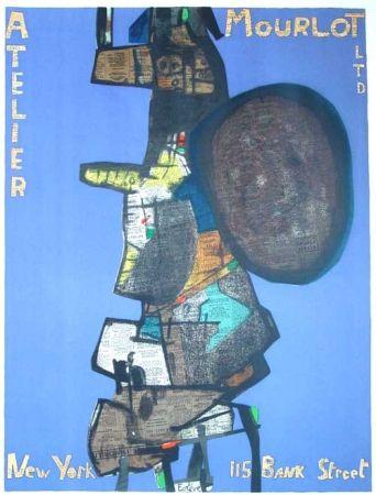 Lithograph Esteve - Atelier Mourlot