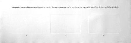 Engraving Perejaume - Atmosferes