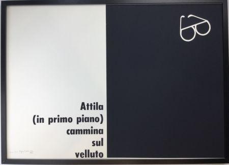 Screenprint Isgro - Attila
