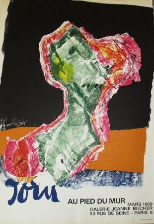 Poster Jorn - Au pied du mur