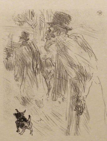 Illustrated Book Toulouse-Lautrec - Au pied du Sinaï