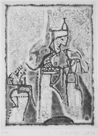 Aquatint Kouliev - Audienz beim Sultan