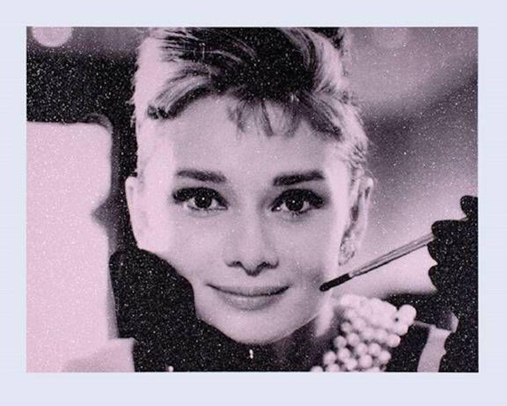 Screenprint Young - Audrey Hepburn