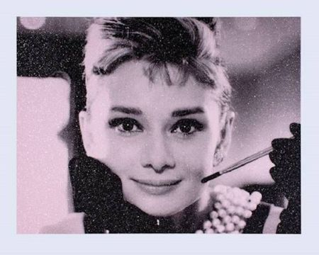 Screenprint Young - Audrey Hepburn
