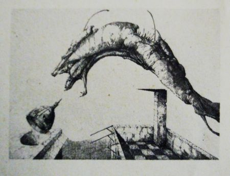 Etching And Aquatint Hernandez - Aura