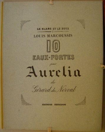 Etching Marcoussis - Aurelia, 10 Eaux-fortes