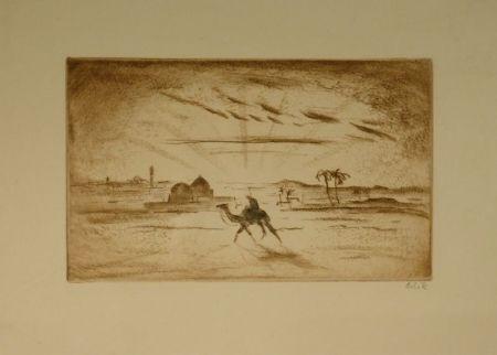Engraving Orlik - Aus Ägypten