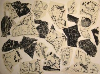 Lithograph Voss - Aus der Erinnerung