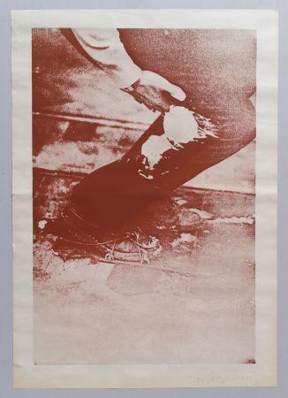 Screenprint Beuys - Aus Eurasienstab