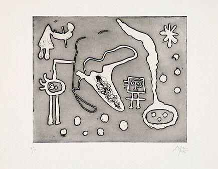 Etching And Aquatint Miró - Aus