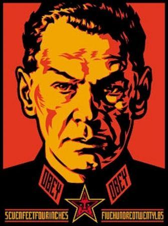Screenprint Fairey - Authoritarian