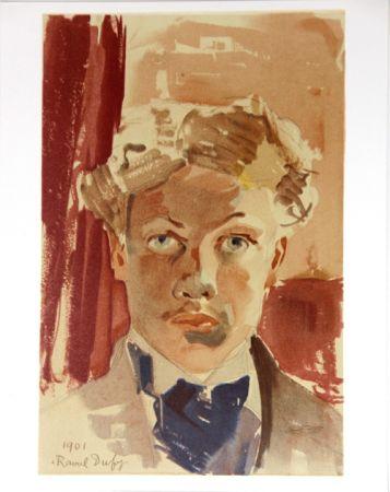 Lithograph Dufy - Auto-Portrait