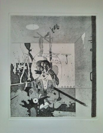 Etching And Aquatint Ferroni - Autobiografia N.1