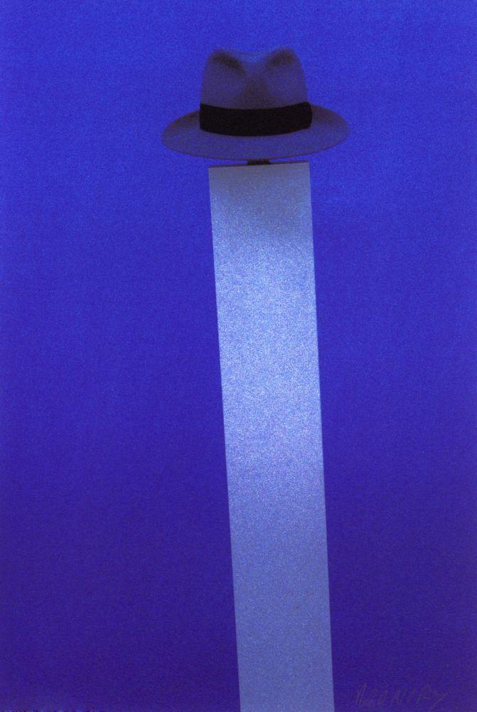 Screenprint Monory - Autoportrait