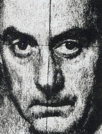 Screenprint Ray - Autoportrait 1972