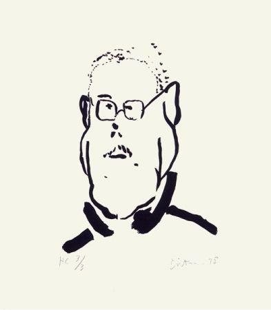 Screenprint Dietman - Autoportrait No. 2