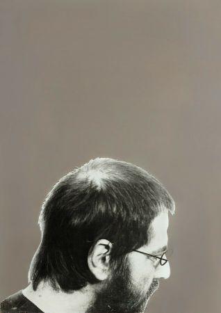 Screenprint Pistoletto - Autoritratto, 1970