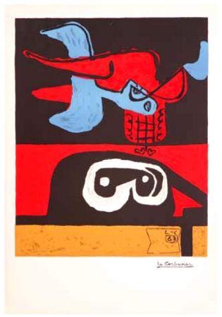 Lithograph Le Corbusier - Autrement que sur terre (Otherworldy)