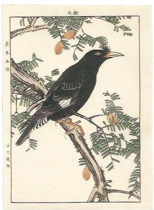 Woodcut Keinen - Autumn Group (Serie: Four Seasons)