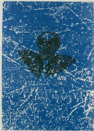 Lithograph Ernst - Aux Petits Agneaux