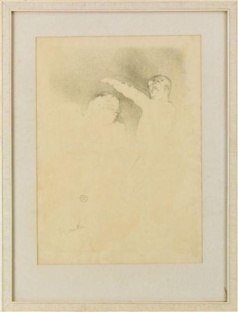 Lithograph Toulouse-Lautrec - Aux Variétés: Mademoiselle Lender et Brasseur