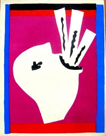 Lithograph Matisse - Avaleur de Sabres de la serie Jazz