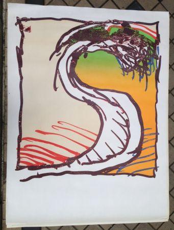 Lithograph Alechinsky - Avant la lettre