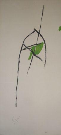 Lithograph Tal Coat - Avant la lettre n°133