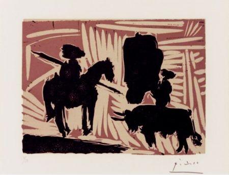 Linocut Picasso - Avant le pique