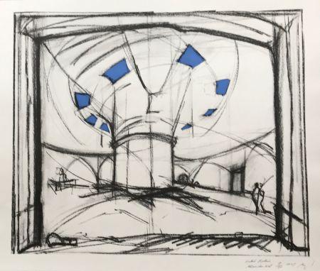 Screenprint Buraglio - Avec Hubert Robert – Gauloise Bleue
