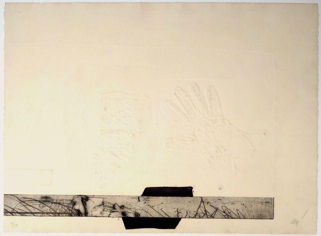 Engraving Clavé - Avec un gant II